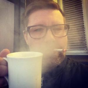 kaffe och cigg