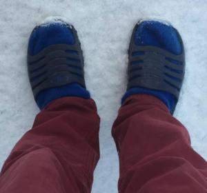 badtofflor i snö