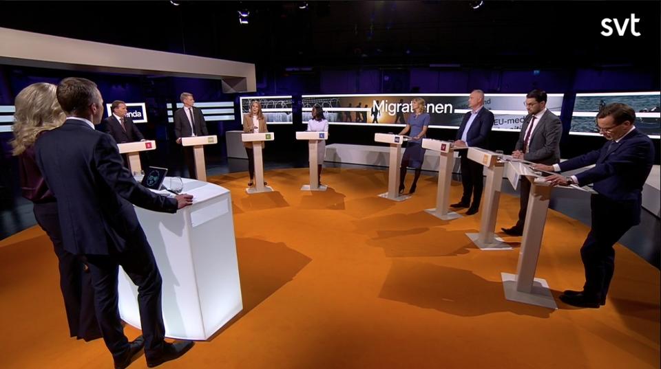 Dårhusdebatt i SVT – jag antecknade